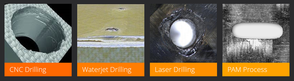 Traditional Perforating Methods and Precision Abrasive Machining